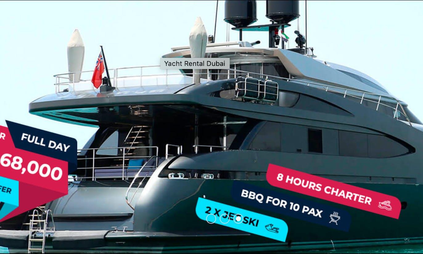 Babylon - 124 Ft Yacht