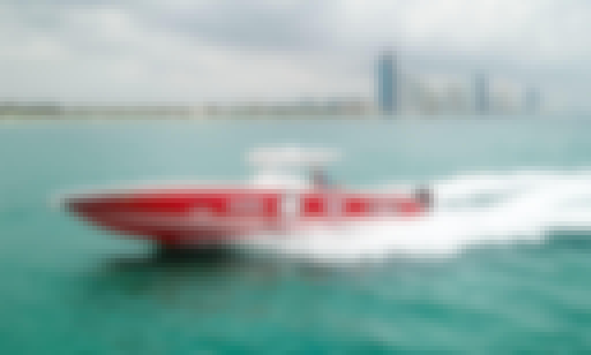 34' Cigarette Top Gun Center Console Charter in Miami Beach