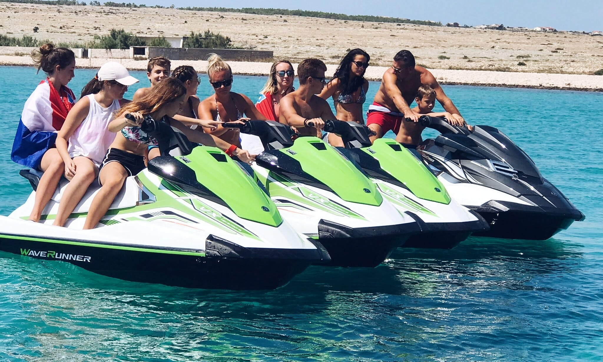 Jet Ski Rental for 2 People in Ražanac, Croatia