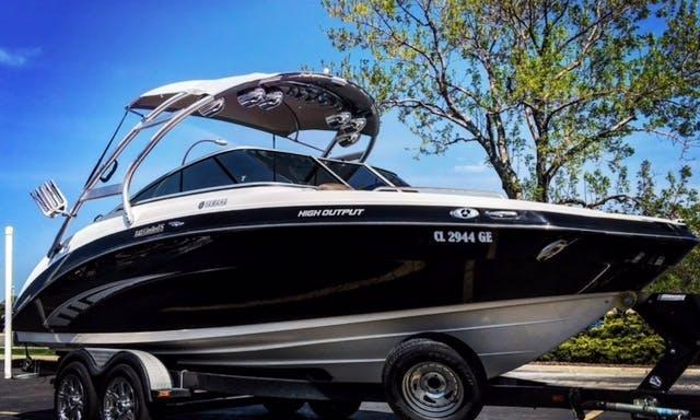24' Yamaha Ski Boat Rental