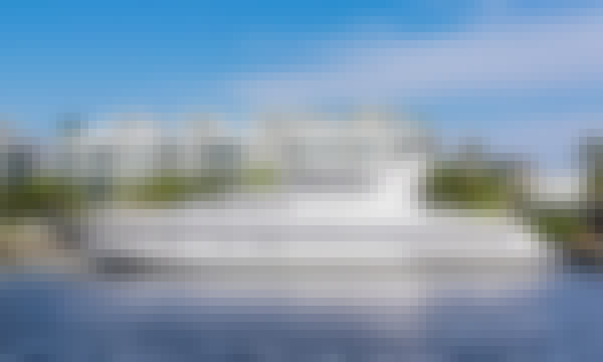 "Charter the 100ft ""Alchemist"" Mangusta Power Mega Yacht in Miami, Florida"