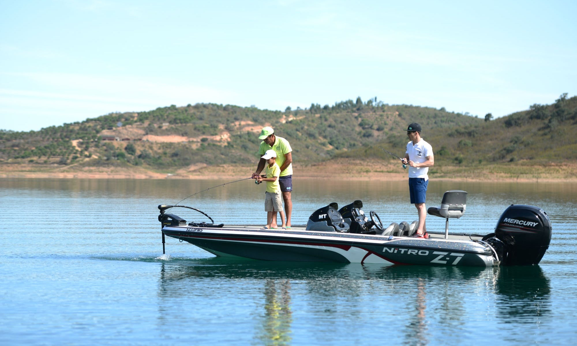 Guided Fishing in Barragem de Santa Clara, Portugal