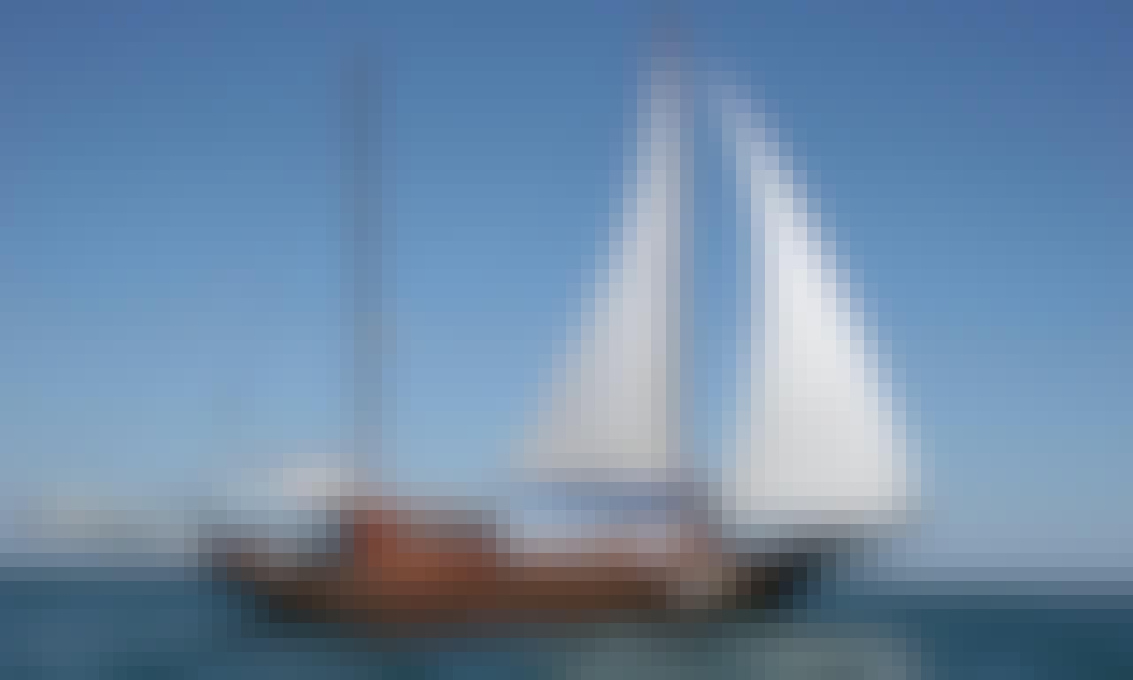 Charter 35 Person Sailing Gulet in Nessebur, Bulgaria