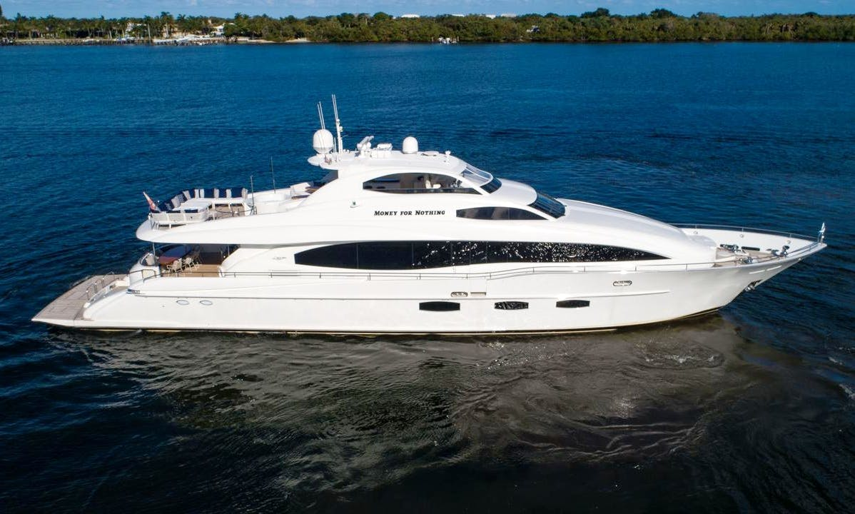 Money For Nothing - 116 ft. Mega Yacht in Palm Beach