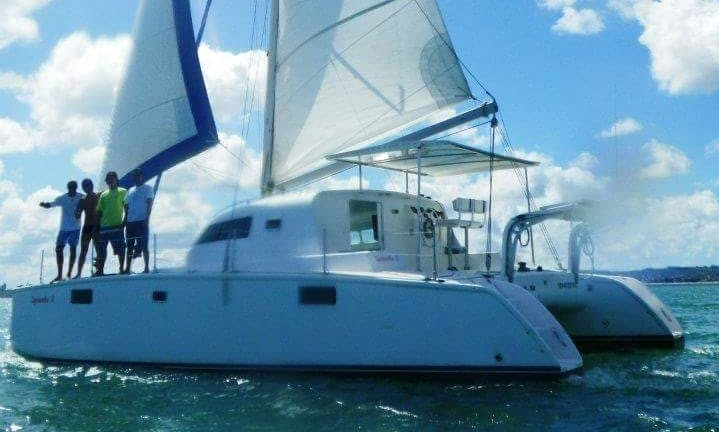 40' Cruising Catamaran - 12 Person Capacity in Bahia, Brazil