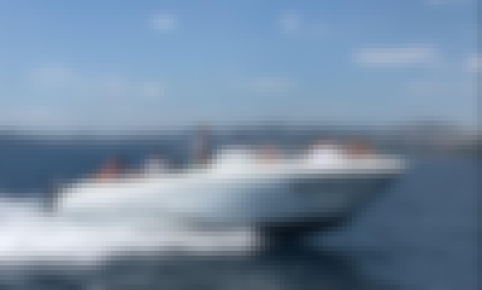 Book Now 5✰ Private Day Trip Out to Hvar, Split Onboard 25' Jeanneau-Cap Camarat 755CC
