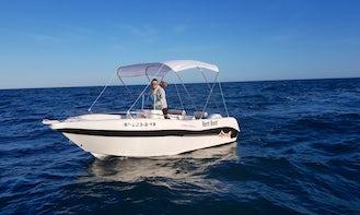 NO LICENSE REQUIRED Voraz 500 Maximum Boat Rental in Fuengirola