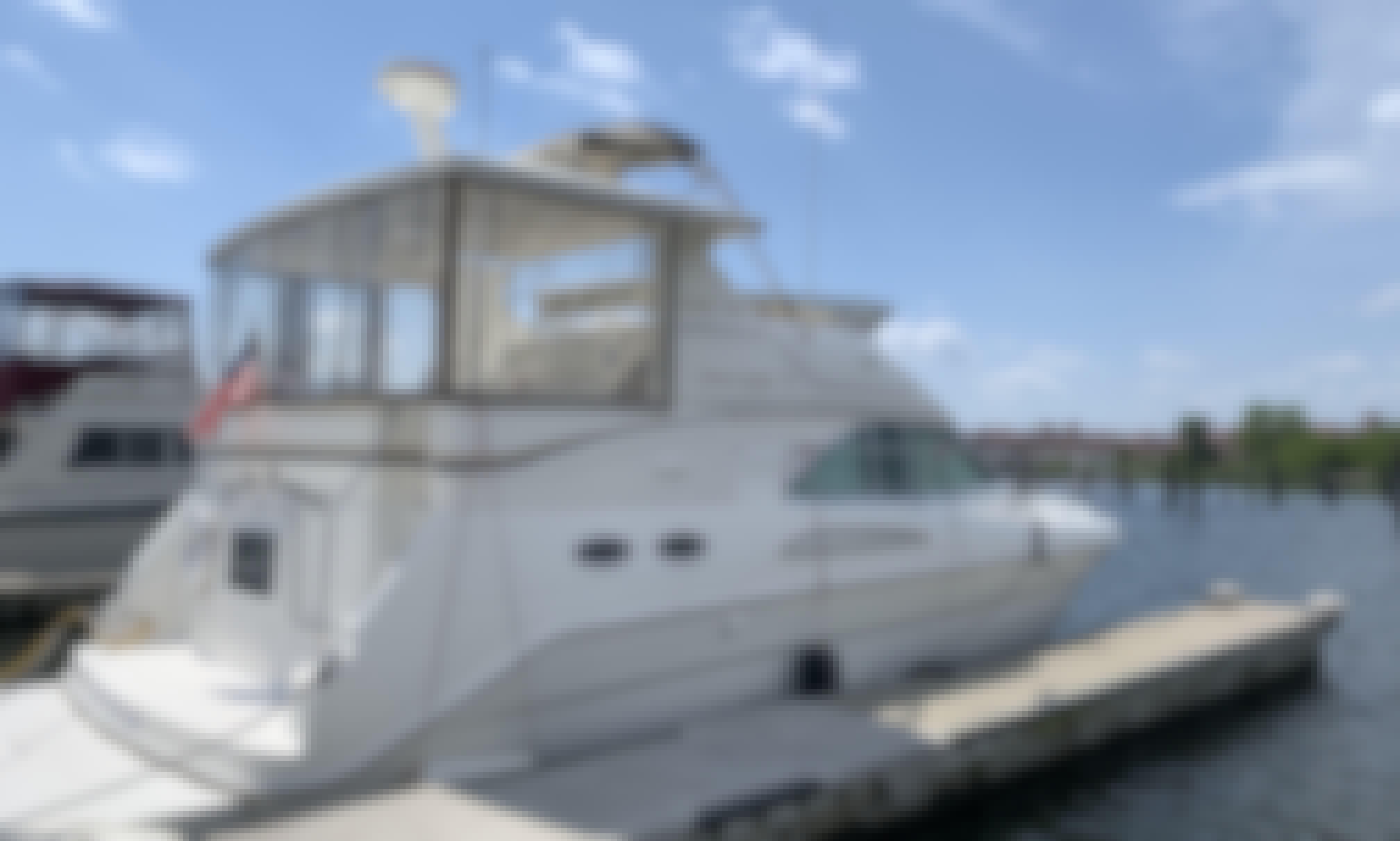 Sea Ray AC Motor Yacht Charter in New York