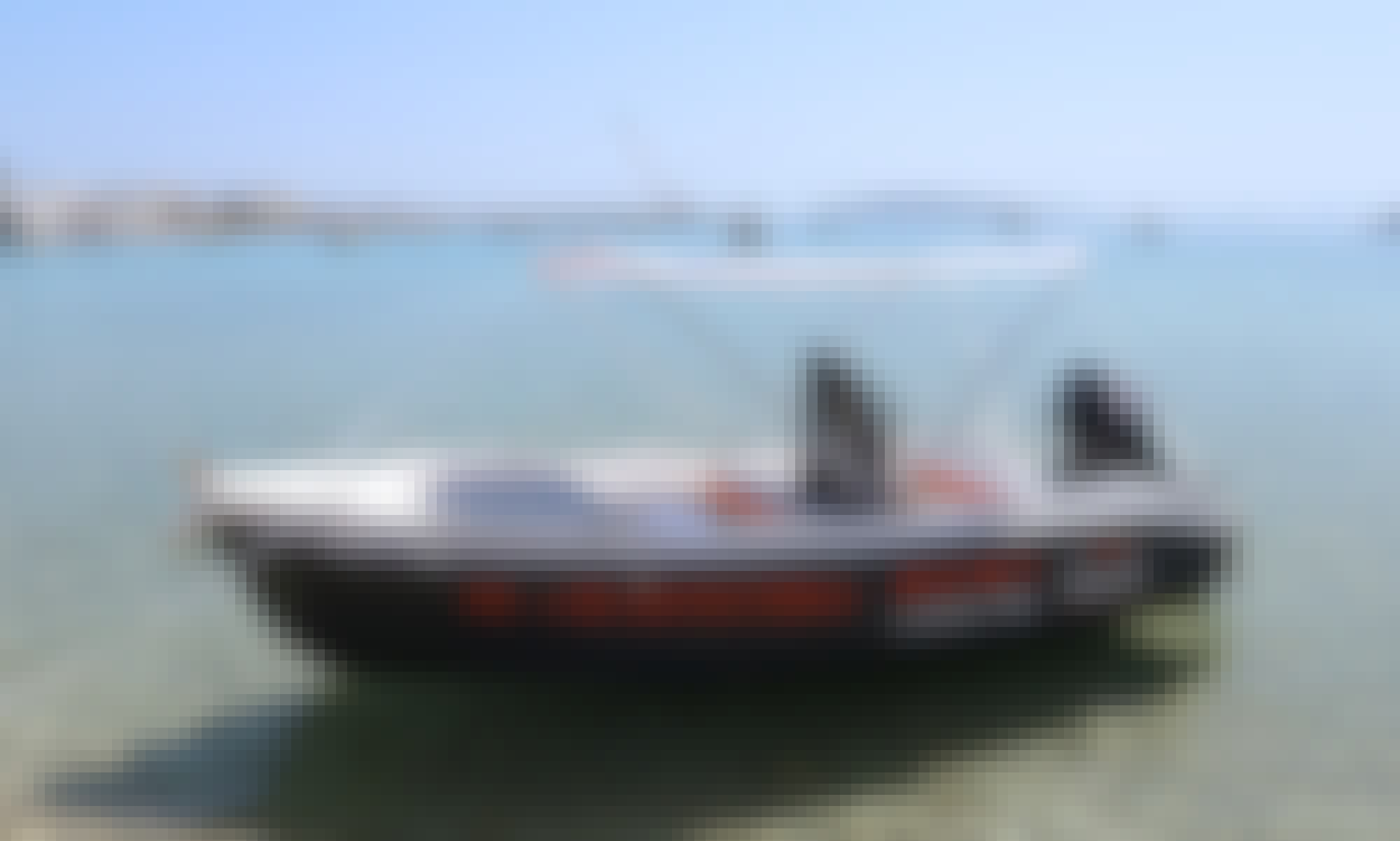 The Sailor's Ride 450 Center Console for Rent in Paros, Greece