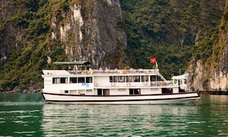 Experience the Wonder of Halong Bay on the Lavender Cruise 7 Cabins