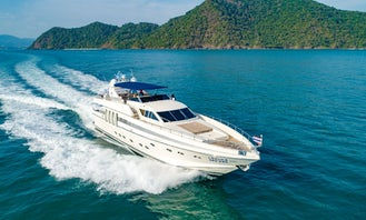 Charter the 89' Technema Power Mega Yacht in Chalong, Phuket