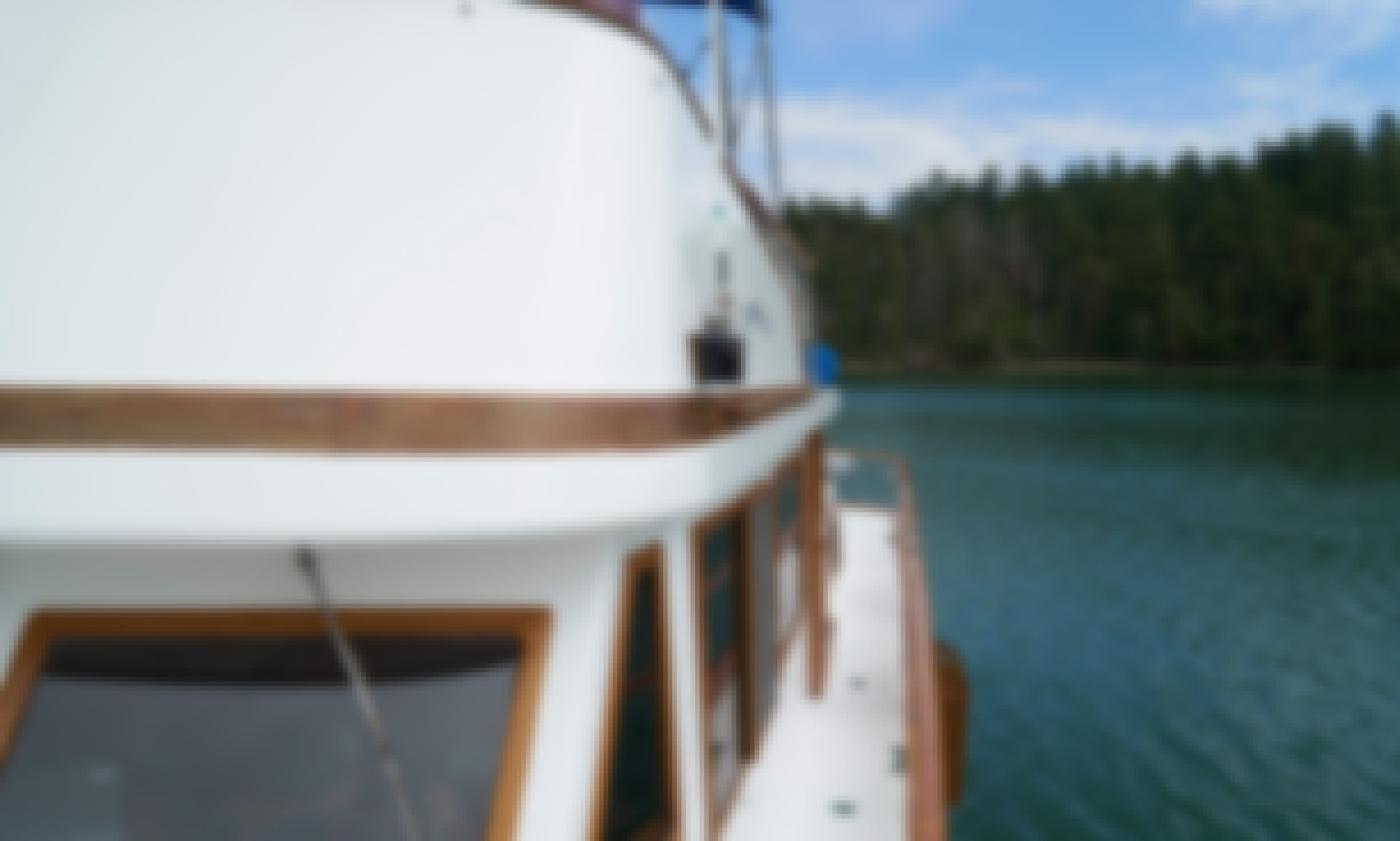 Charter this CHB 41' Aft Cabin Trawler for 6 People in Anacortes, Wa