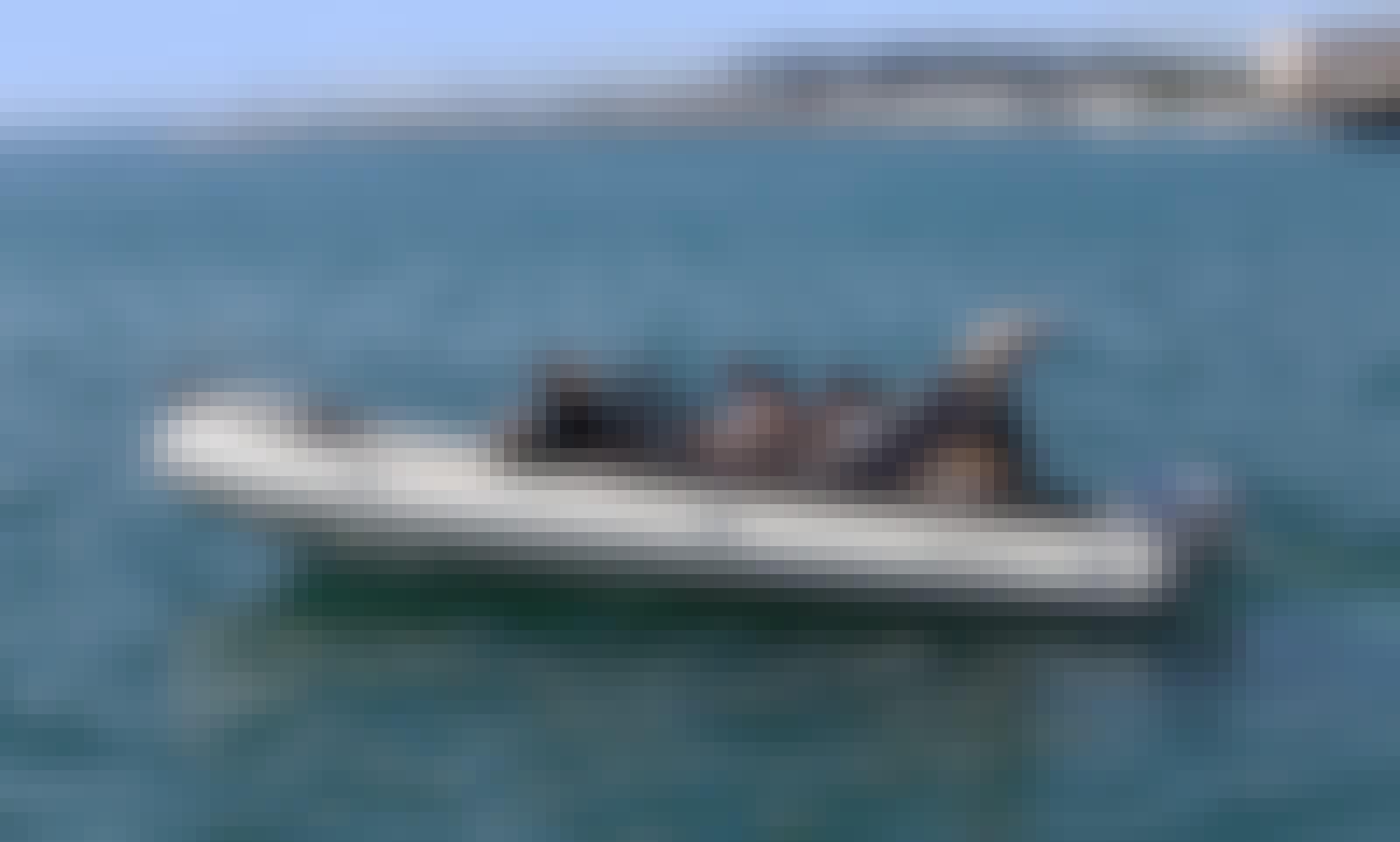The Blue Lagoon Tour onboard Barracuda Shark BF23 RIB