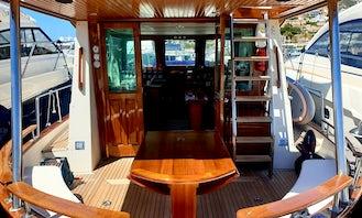 Charter 45' Charm & Charismatic Myabca Motor Yacht in Port d,Andratx, Spain
