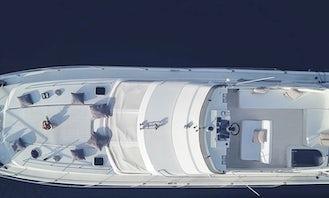 Princess Fly Bridge 470 Motor Yacht in Corfu