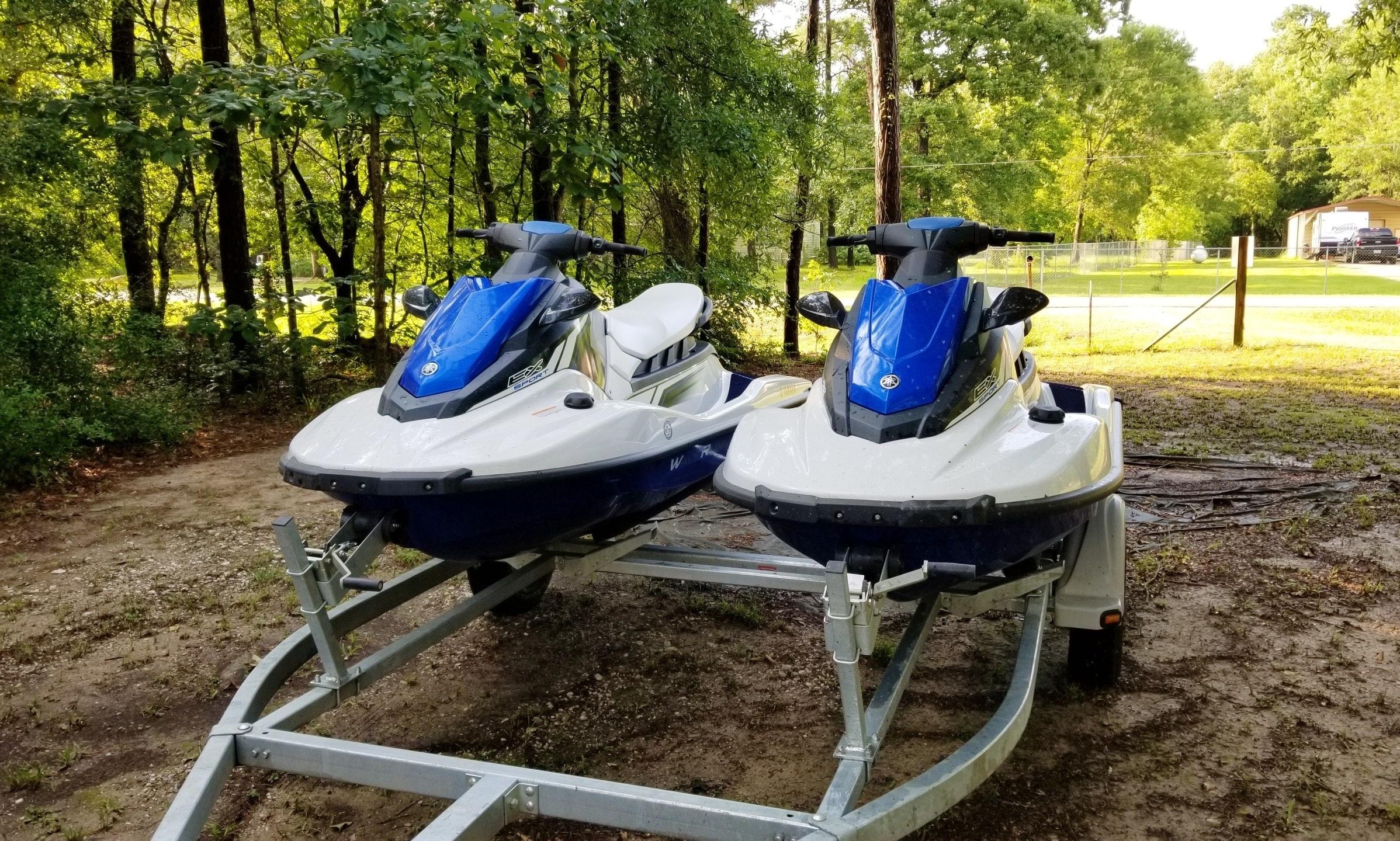 Reserve The Yamaha Ex Sport Jet Ski In Galveston Texas Getmyboat