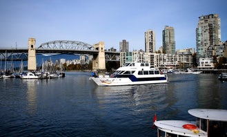 Sightseeing, Dinner Cruises, and Private Event Boat Rentals in Vancouver, British Columbia!