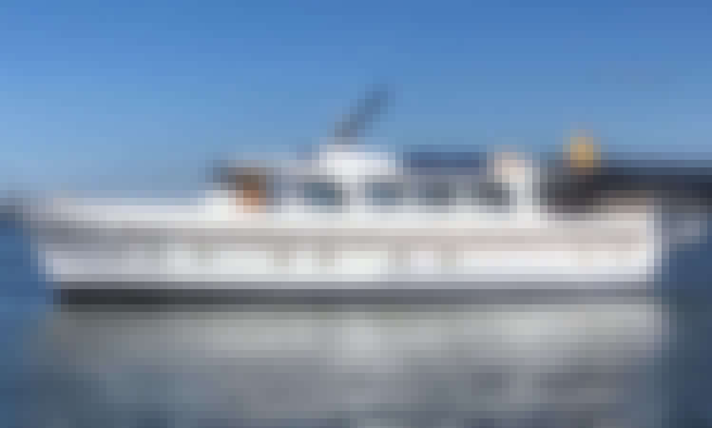 72' Classic Motor Yacht for Charter in Vigo, Spain