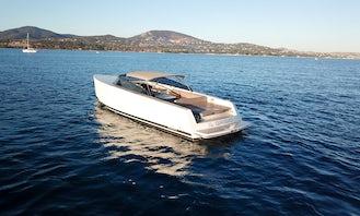 40' VanDutch Speedboat Rental in Cannes, France