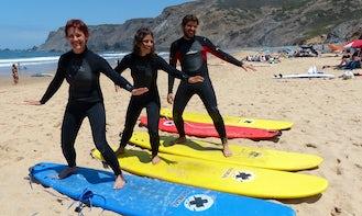 Unforgettable Surfing Lesson in Sagres