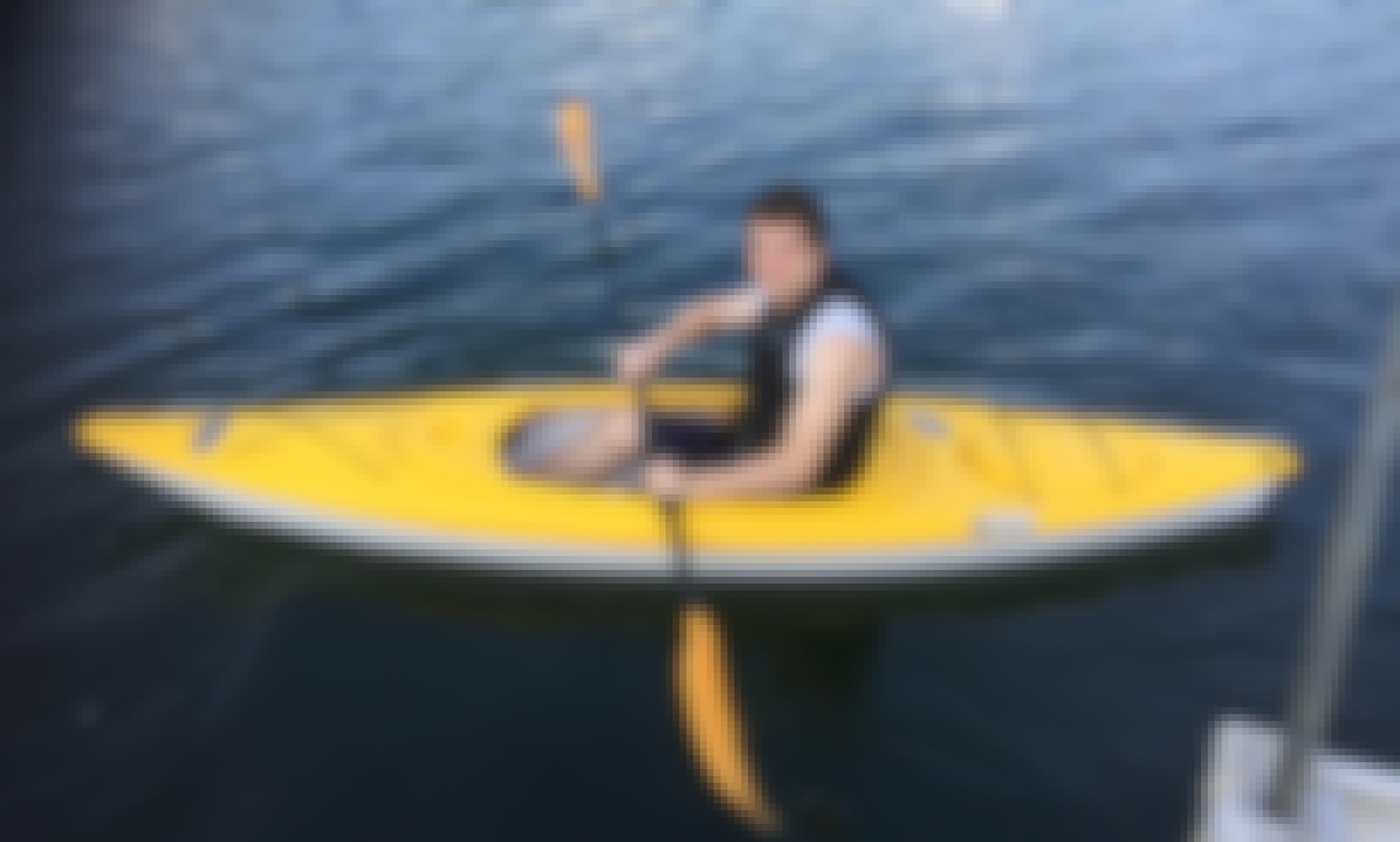 Kayaking at Alpine Lake! Rent a Single Sit in Top Kayak in in Terra Alta, West Virginia