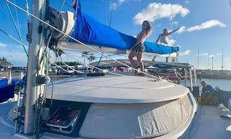 Fountain Pajot 46 Sailing Catamaran Sleep Aboard in Honolulu
