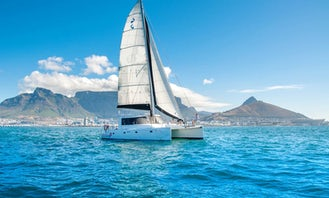 Luxury Sailing Catamaran for Private Charter Hire in Cape Town