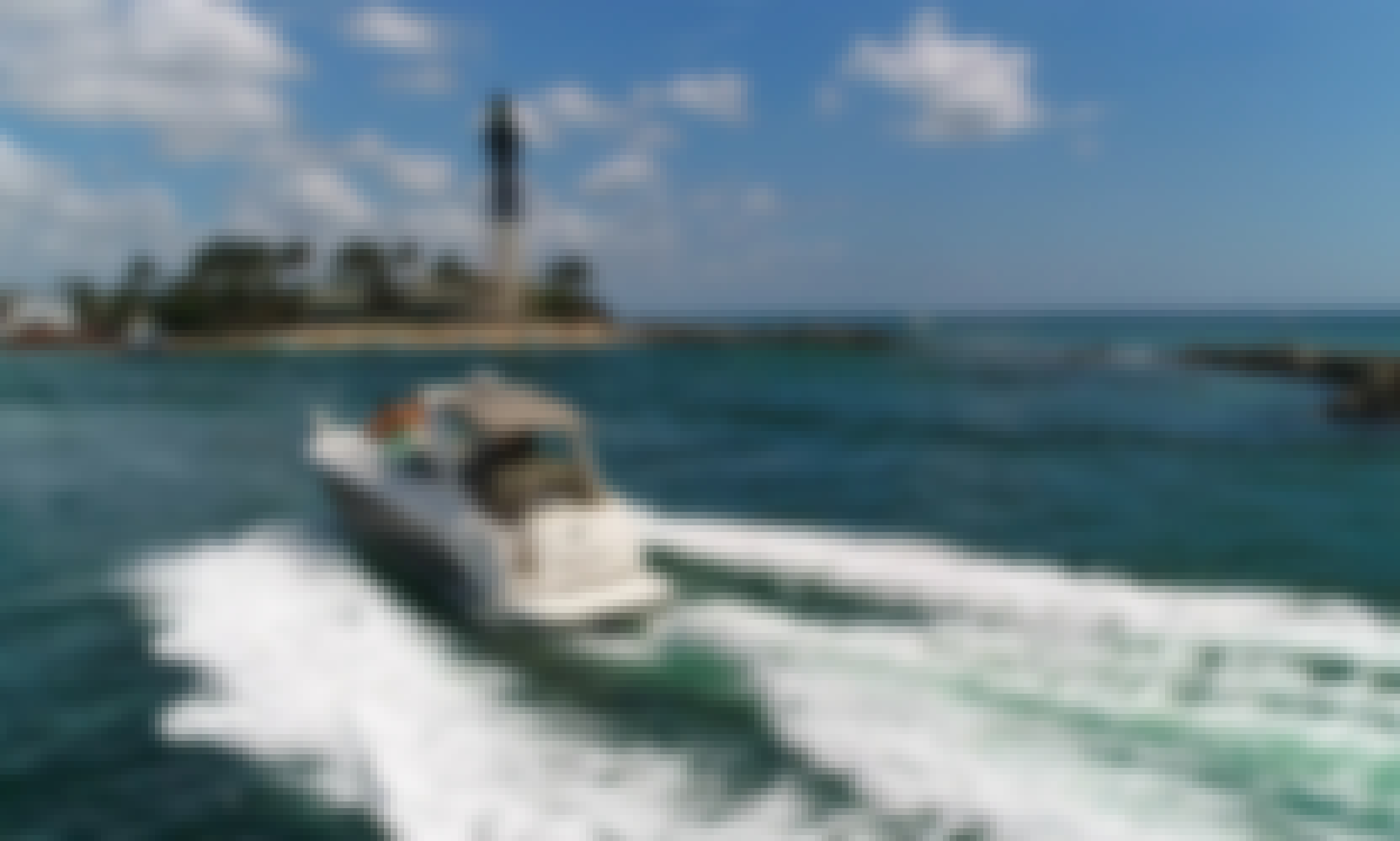 Come Boat with us in Boca $245 per hour!