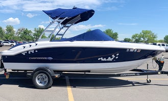 20 foot Wakeboard Boat with Tower excellent shape