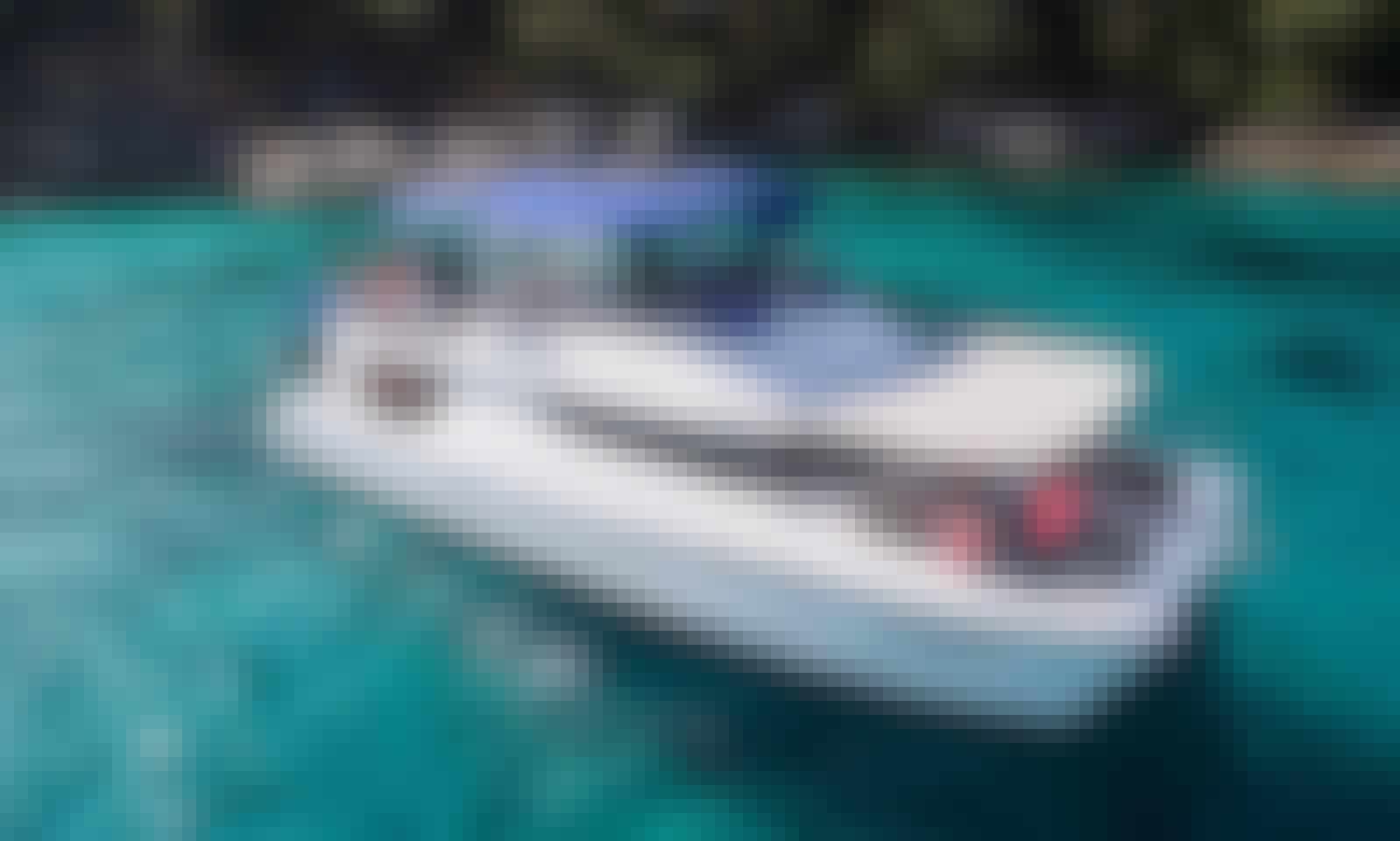 The Azure 5 - Private power catamaran charter