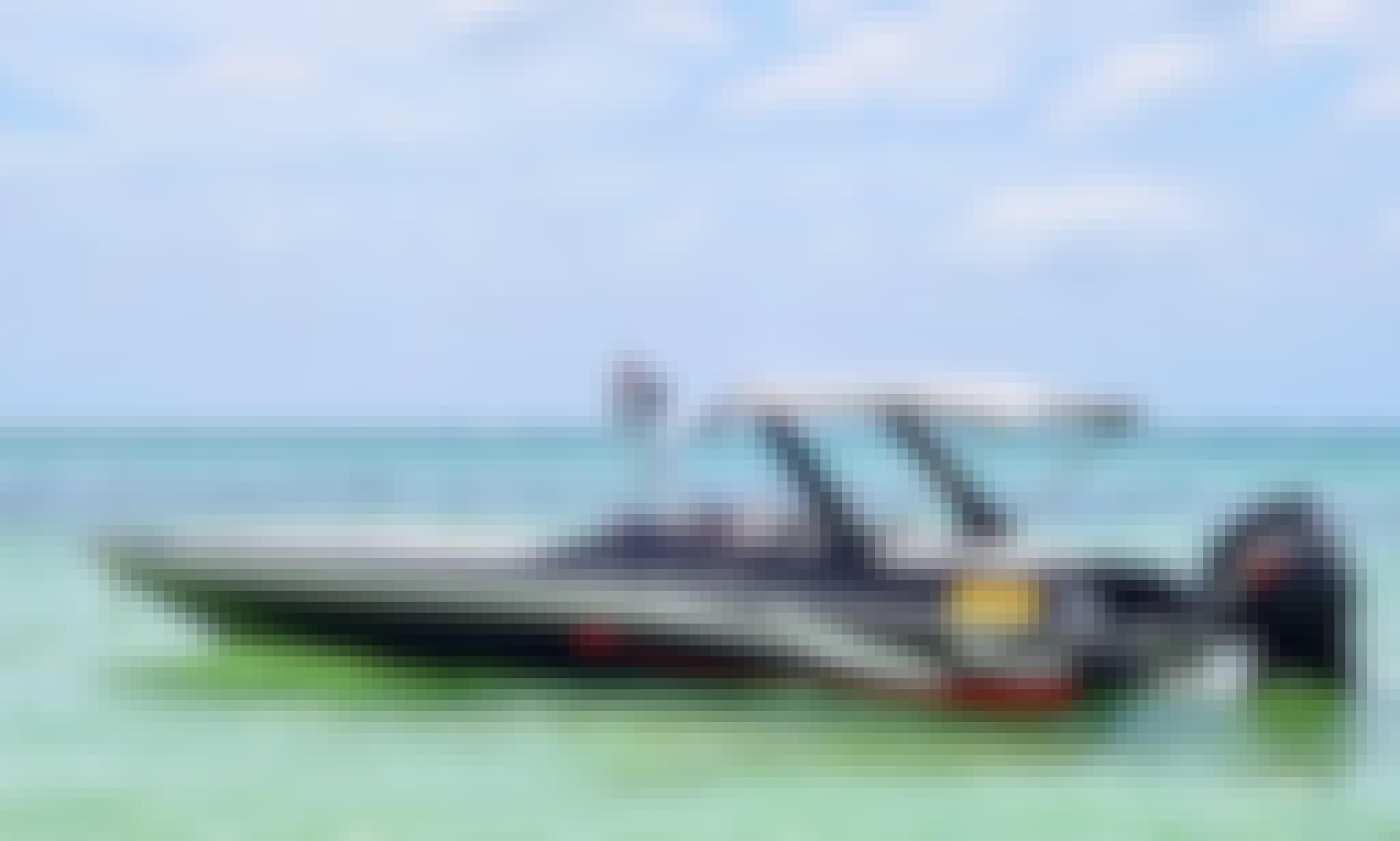 """Rent a """"Magic"""" Bowrider Boat in Trou d'Eau Douce, Flacq District"""