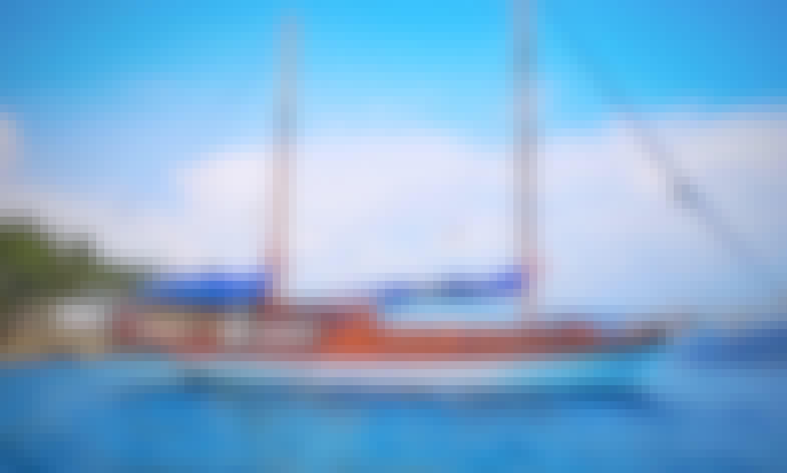 Gulet Navy Blue 63feet in Marmaris Gocek Bodrum