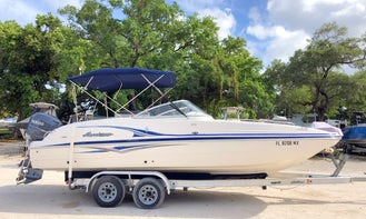 ⭐️ 24' Hurricane Deck Boat 225 Hp - SD237 DUAL CONSOLE MODEL (TAMPA) *INSURANCE INCLUDED*