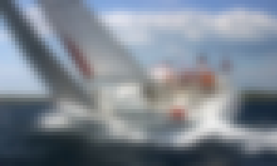 "Explore Pirovac, Šibensko-kninska županija on 42ft ""Les Sables d'Olonne"" Bavaria Match Sailboat"