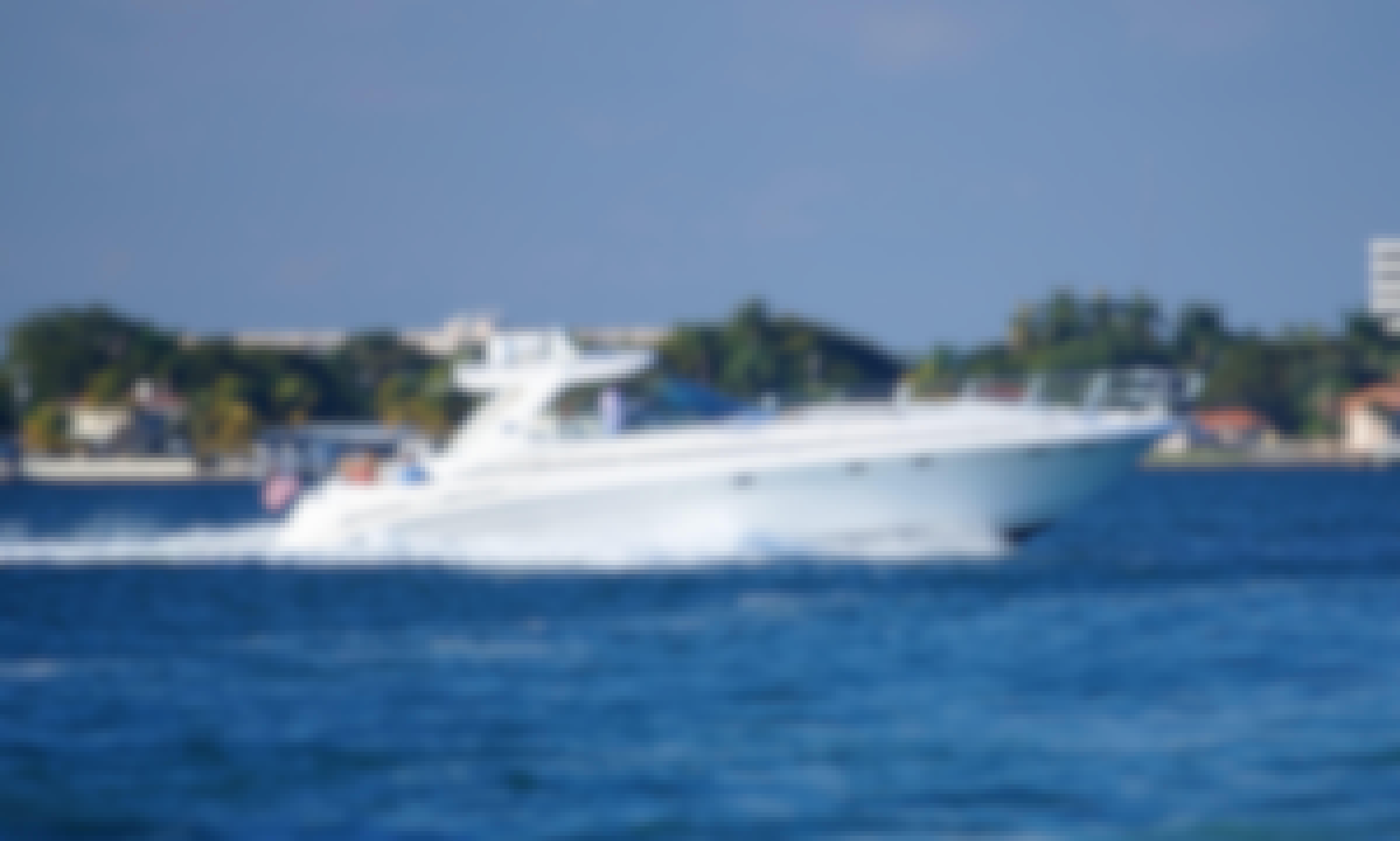 SeaRay 55 Motor Yacht Charter in North Bay Village, Florida