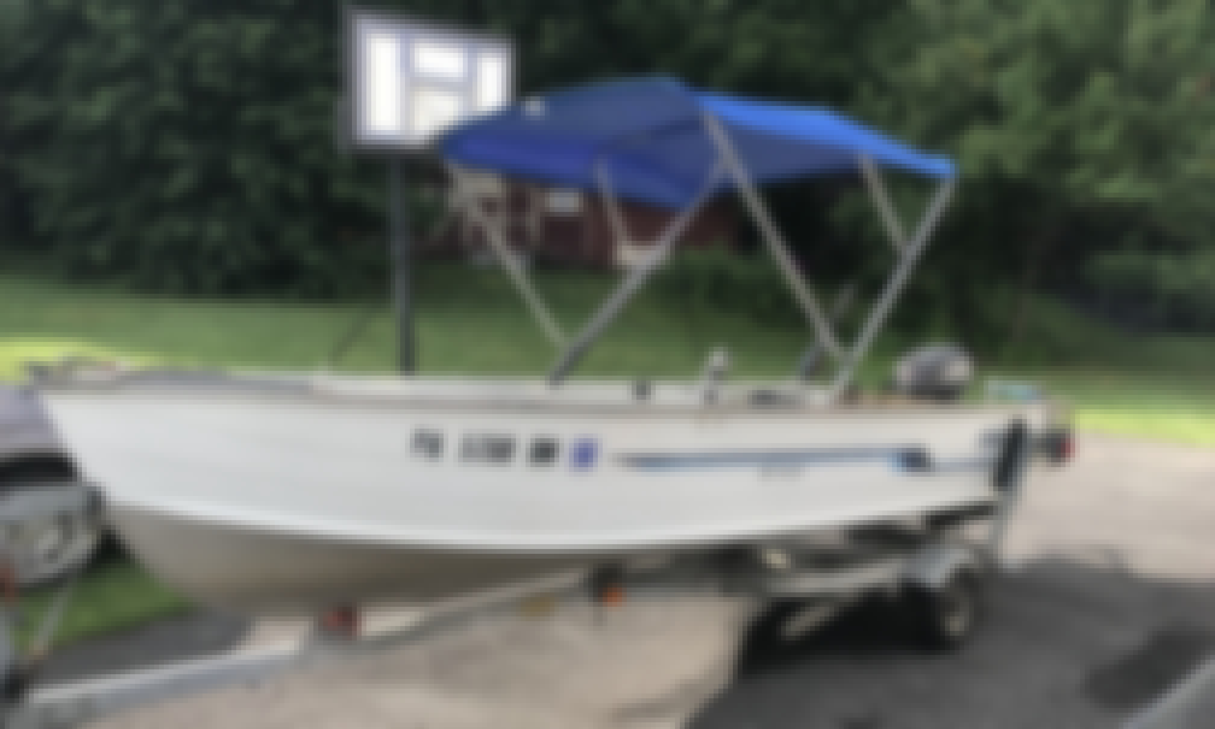 14' Deep V Hull Fishing Boat in Honey Brook, Fun for the Family