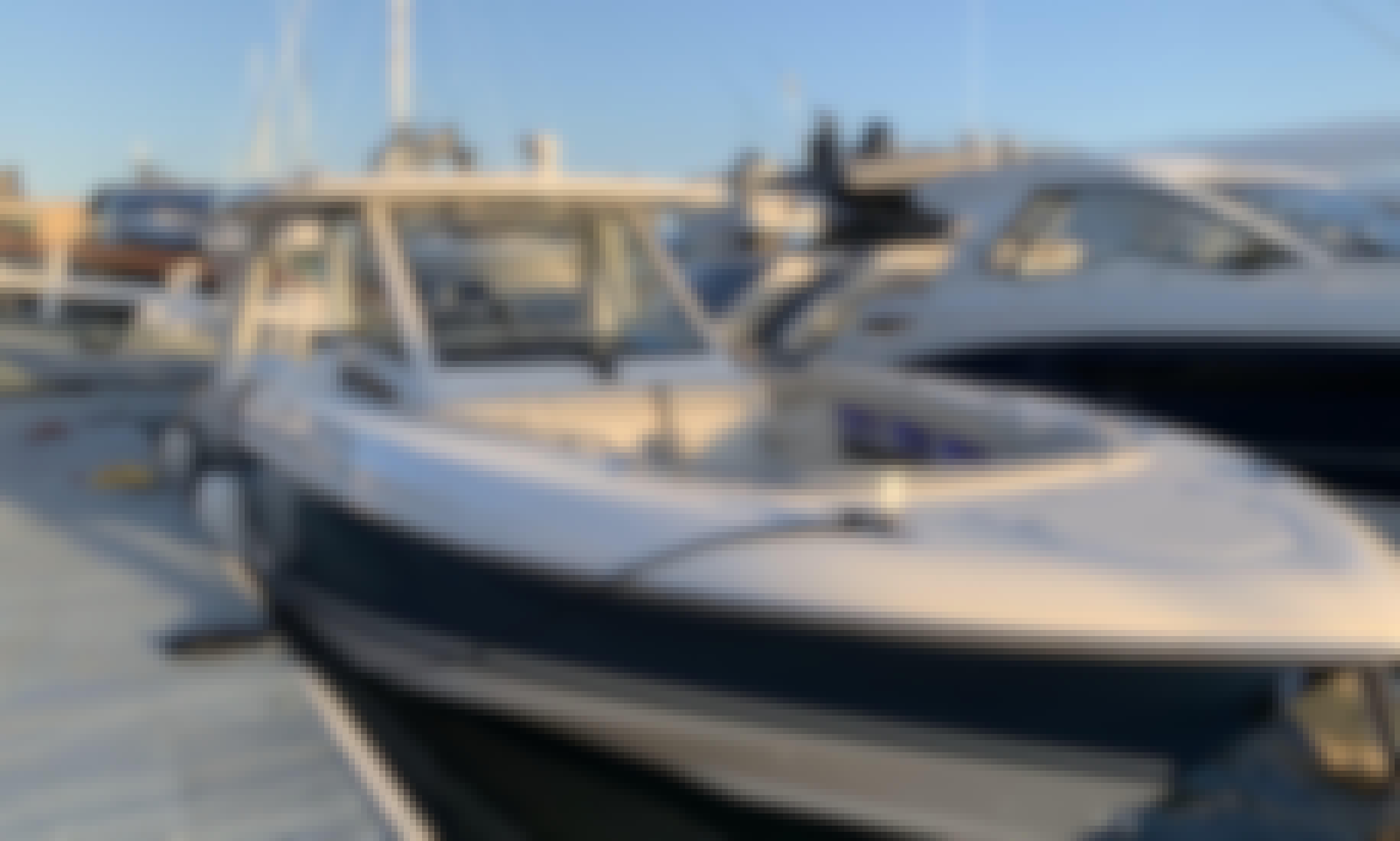 Charter 35' Brand New Boston Whaler w/ Seakeeper in Newport Beach, California