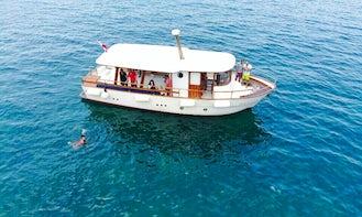 Passenger Boat Rental in Wadi Abou Jmiel, Beirut for 25 person!