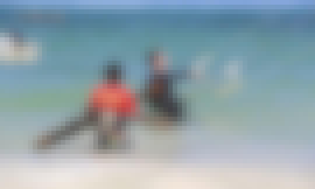 Kitesurfing in Pongwe Beach - Zanzibar