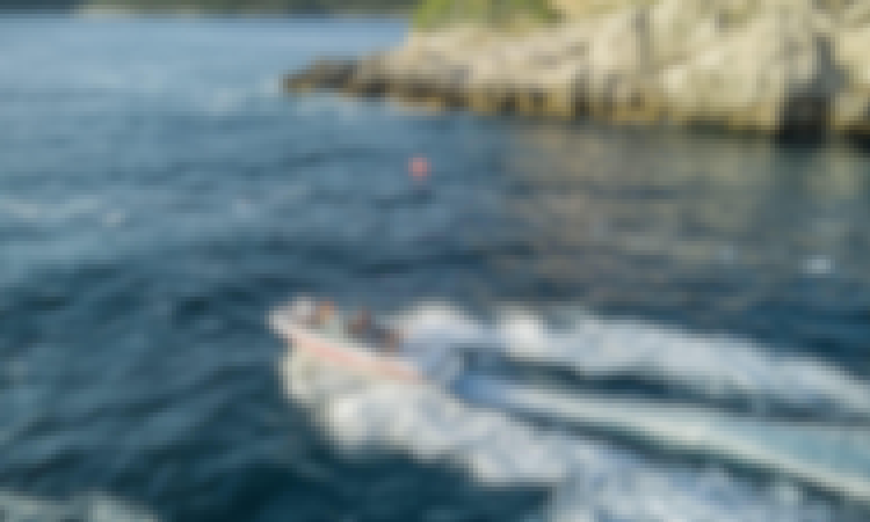 Donja Lastva, Montenegro Tour Aboard a Speed Boat Maxum 2000 SR3 - 7pax