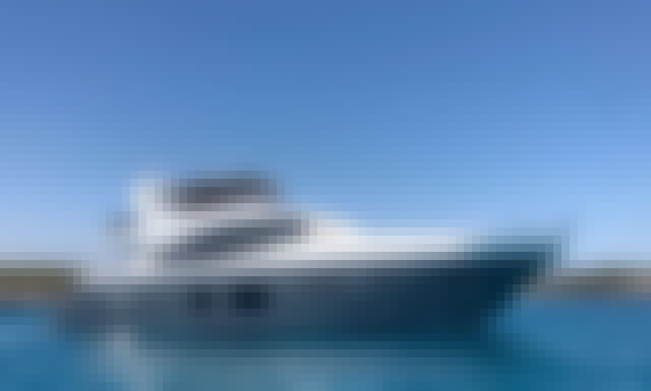 Charter on Princess 72 Exquisite Motor Yacht in Cala D'or, Illes Balears