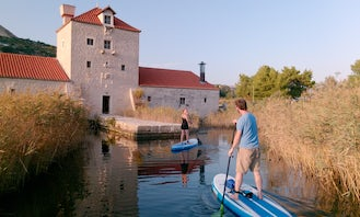 2 Hours SUP Tour and SUP Rental in Kastela and Split area