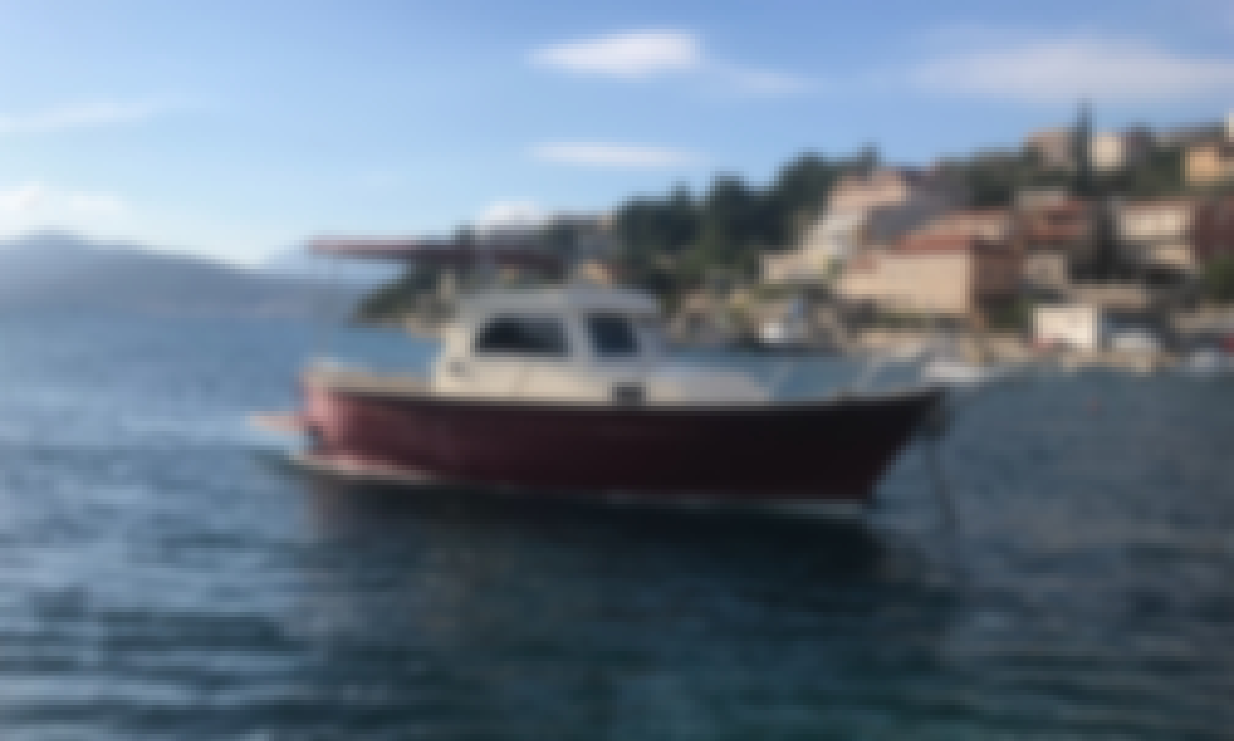 Private Boat Tour in Maxy Kotor onboard Navar 795
