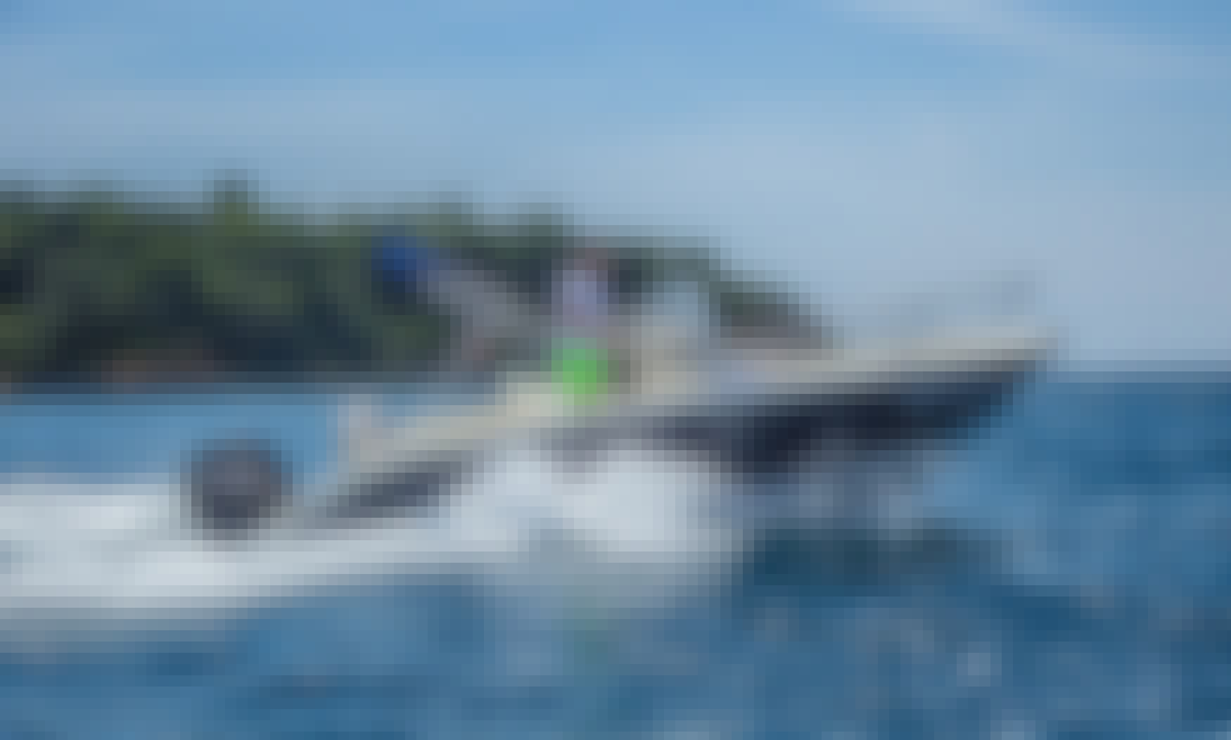 Explore Rovinj with Fisher 20 Powerboat with 150 hp Outboard Motor