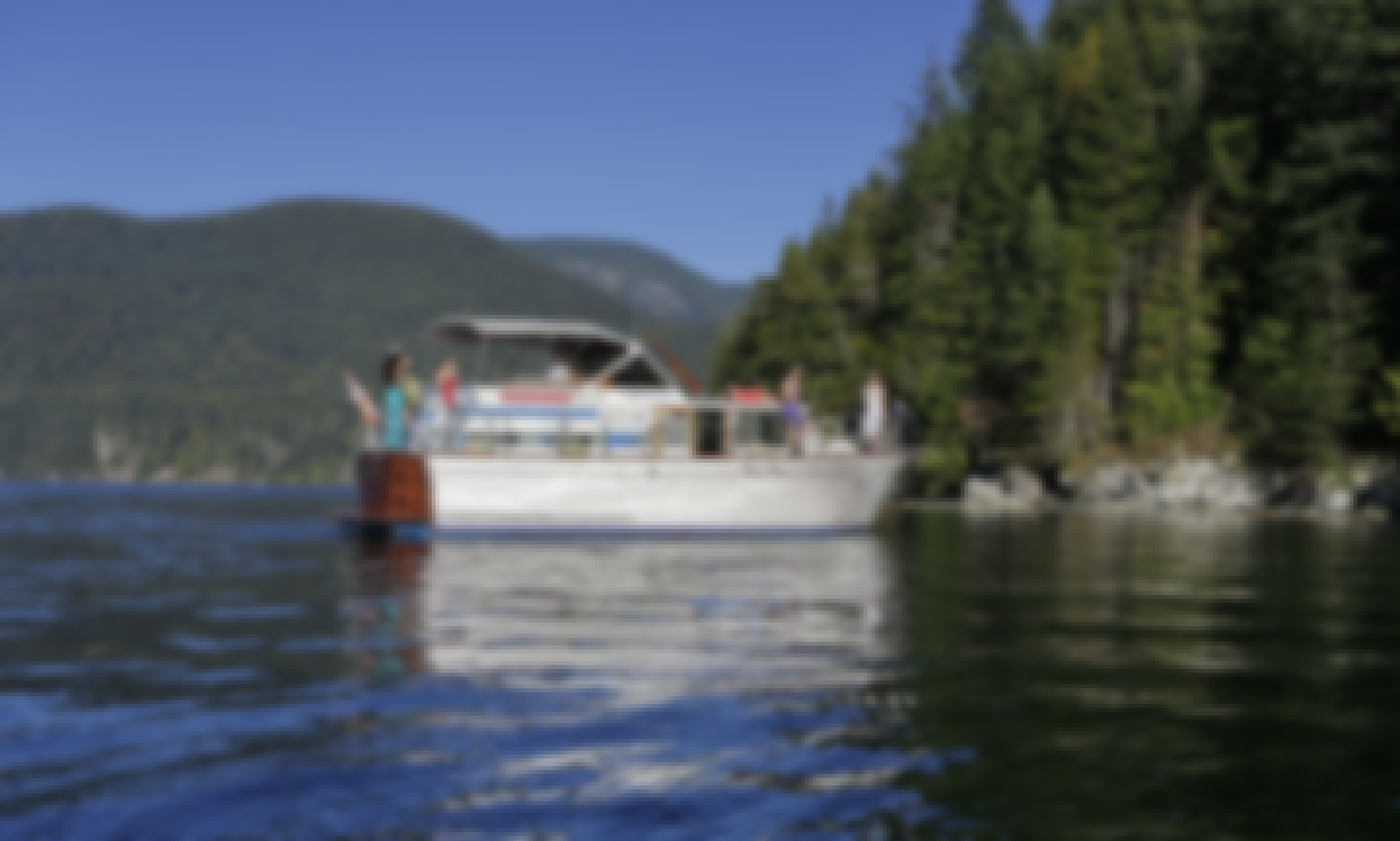 Vancouver, Canada #1 rated private yacht charters - Honu Boat Charters