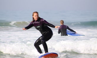 Surfing Lessons on the best surfing location in Morocco