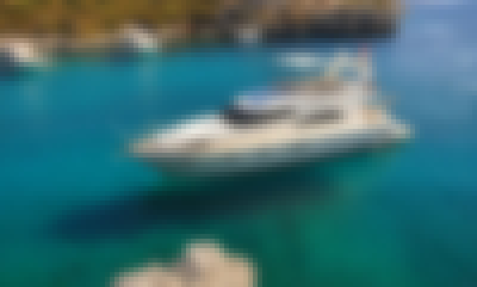 Charter this 800 HP Luxury Motoryacht Feretti in Muğla, Turkey