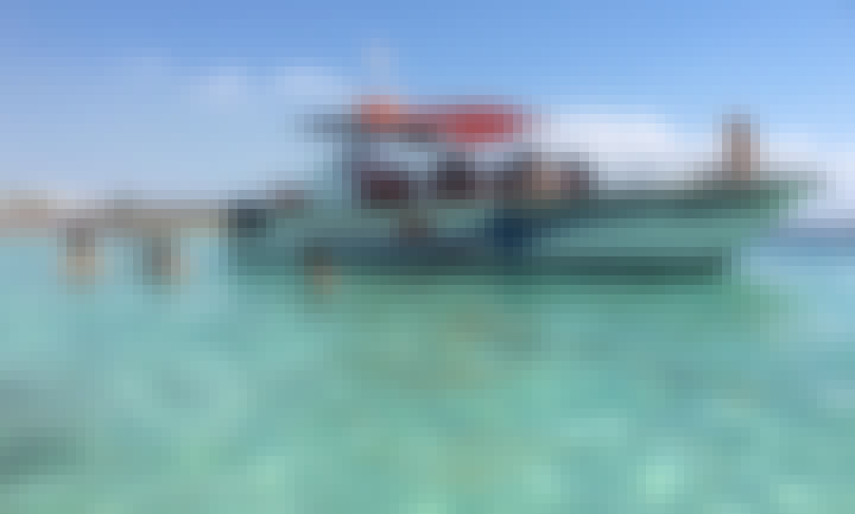Book the 30' Power Catamaran in Herzliya, Tel Aviv District for 14 person