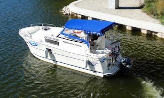 Rent Nautica MC Motor Yacht in Wilkasy, Poland
