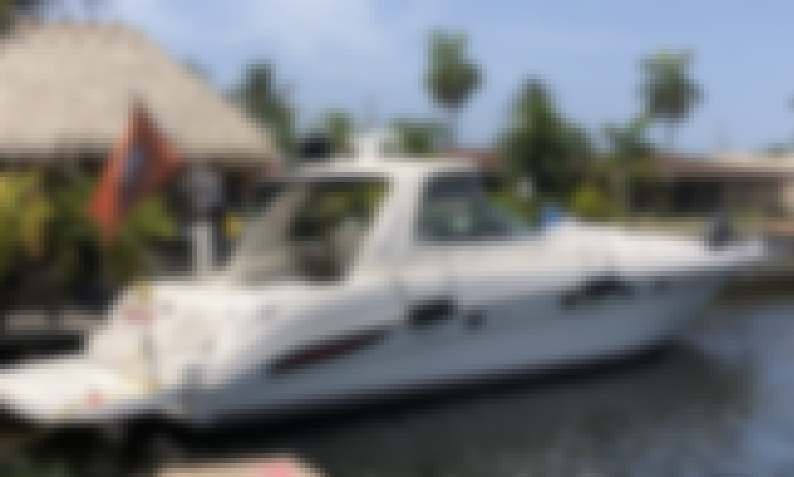 AWESOME SeaRay Sundancer Motor Yacht Charter + Pool/Tiki Bar Rental Experience!!